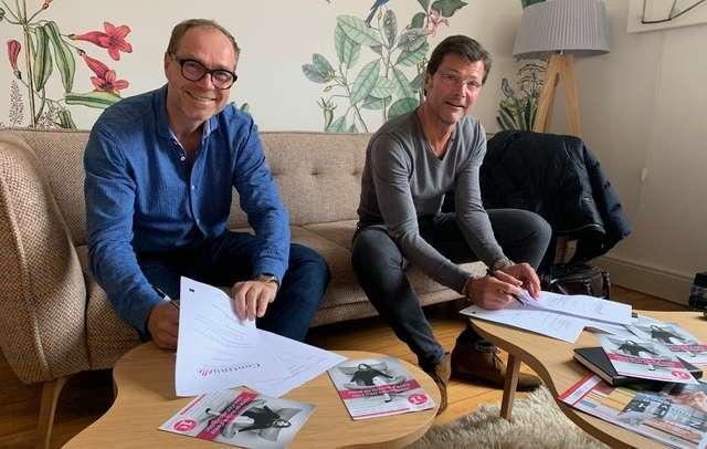 Signature Contrat Heintz pour Continuelle