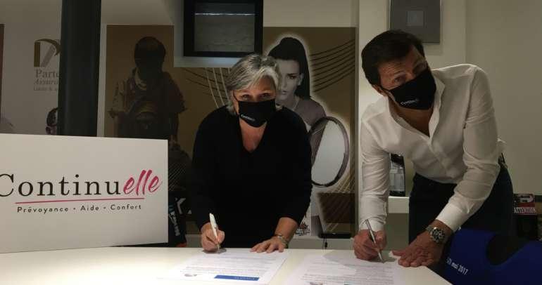 Parténa rejoint le club Cancer@Work